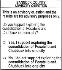 Ballot Advisory Question